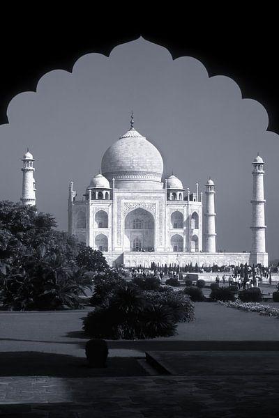 Taj Mahal, Agra, India van Henk Meijer Photography