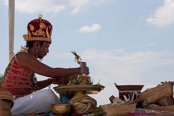 Balinese Priester