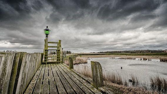 Oude Haven van Schokland, Flevoland van Fotografiecor .nl
