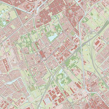 Kaart vanRijswijk van Rebel Ontwerp