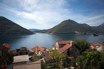 Baai van Kotor - Montenegro van t.ART