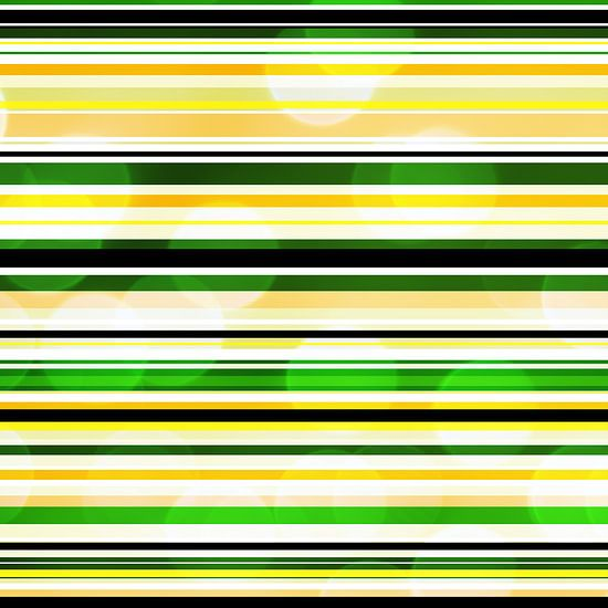 Striped art groen geel met bokeh