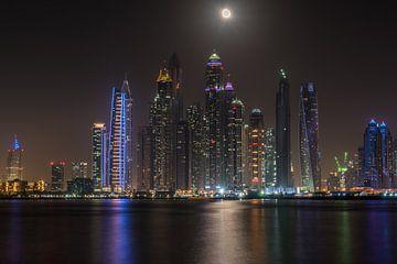 Skyline Dubai  van Nick Janssens