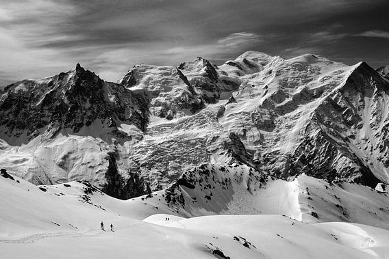 Promenade au Mont-Blanc van Jc Poirot