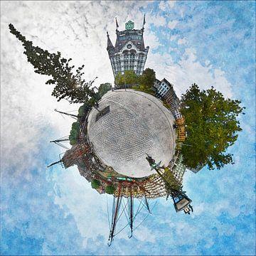 Planet Gelderseplein Rotterdam von Frans Blok