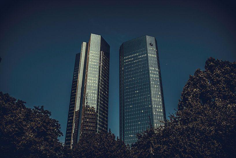 Wolkenkrabbers van Stedom Fotografie