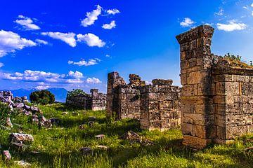 Ruïnes in Pamukkale van Oguz Özdemir