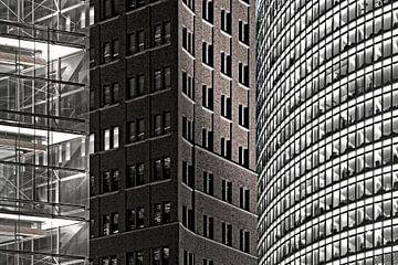 Gevels op de Potsdamer Platz van Frank Herrmann