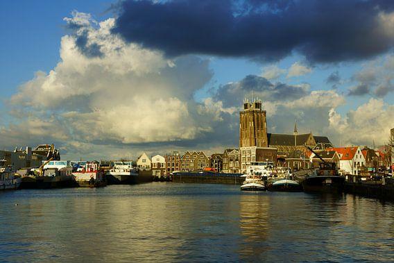 Grote Kerk in Dordrecht van Michel van Kooten