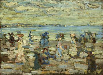 Maurice Brazil Prendergast~Strand-Szene