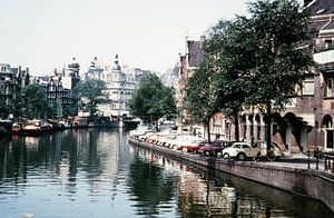 Vintage Amsterdam gracht 60s