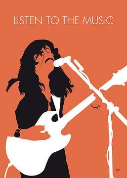 No243 MY Doobie Brothers Minimal Music poster von