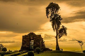 Sukuh tempel, Java sur Lex Scholten