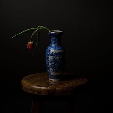 tulipe dans un vase sur Arend Wiersma