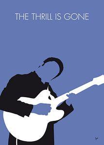 No048 MY BB KING Minimal Music poster