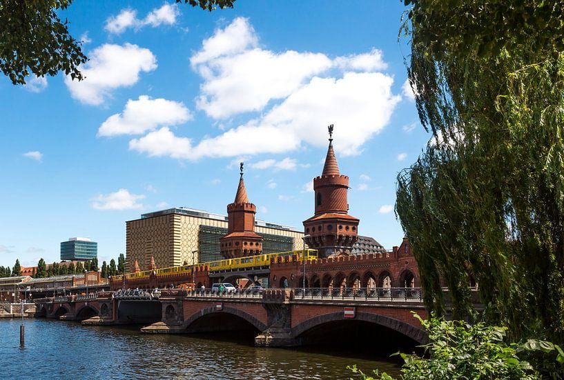 Oberbaumbrücke Berlijn van Frank Herrmann