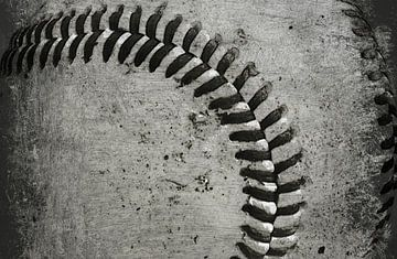 Worn Baseball von Christy Leigh