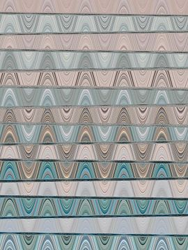 Abstract Digital Art 1/2021 von Gabi Hampe