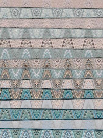 Abstracte digitale kunst 1/2021 van Gabi Hampe