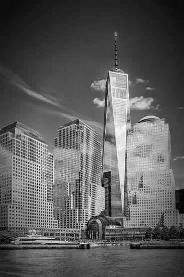 NEW YORK CITY One World Trade Center en de Hudson River