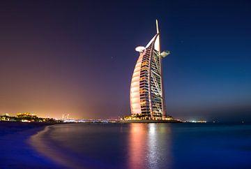 Burj al arab hotel van