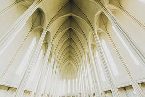 Kerk Reykjavic IJsland