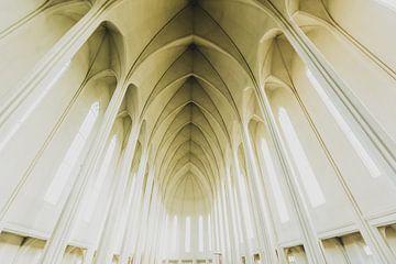 Kerk Reykjavic IJsland van Michiel van Druten