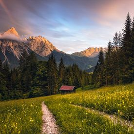 Ehrwalder Sonnenspitze (Tyrol / Austria) van Dirk Wiemer