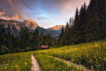 Ehrwalder Sonnenspitze (Tirol / Österreich) von Dirk Wiemer