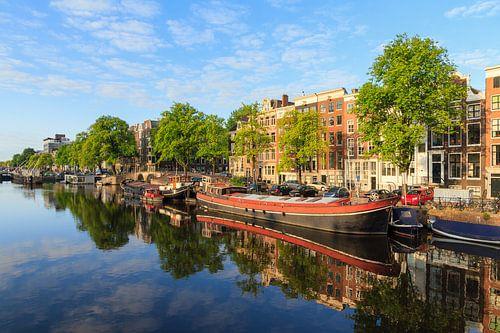Amstel zomer reflectie van Dennis van de Water