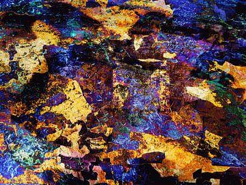 Modernes, abstraktes Digital Artwork - Als die Zeit noch stand von Art By Dominic