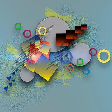 Formenvielfalt - Kräftige  Farben von Ursula Di Chito