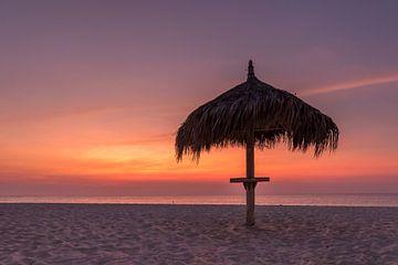 Aruba Sunset Eagle Beach von Meliza  Lopez