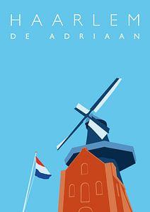 Molen Adriaan Haarlem van Erwin van Wijk