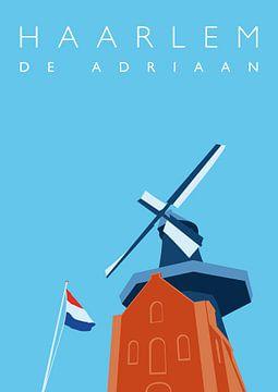 Mühle Adriaan Haarlem von Erwin van Wijk
