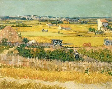 Vincent van Gogh. Harvest sur 1000 Schilderijen