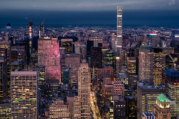 Aussicht vom Empire State Building von Kurt Krause