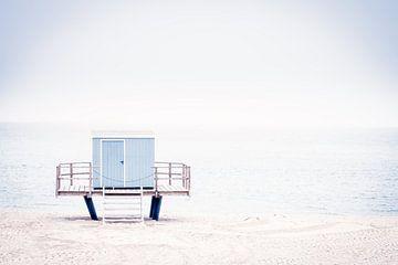 Aan het strand III - Strandhuis van Sabine Wagner