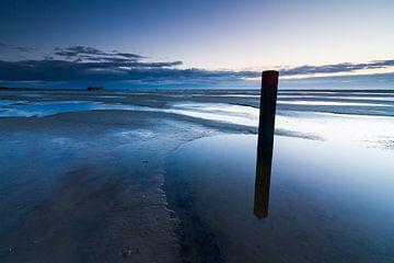 Strandpaal & strandtent van