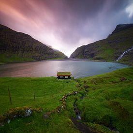 Het eenzame huisje. van Sven Broeckx