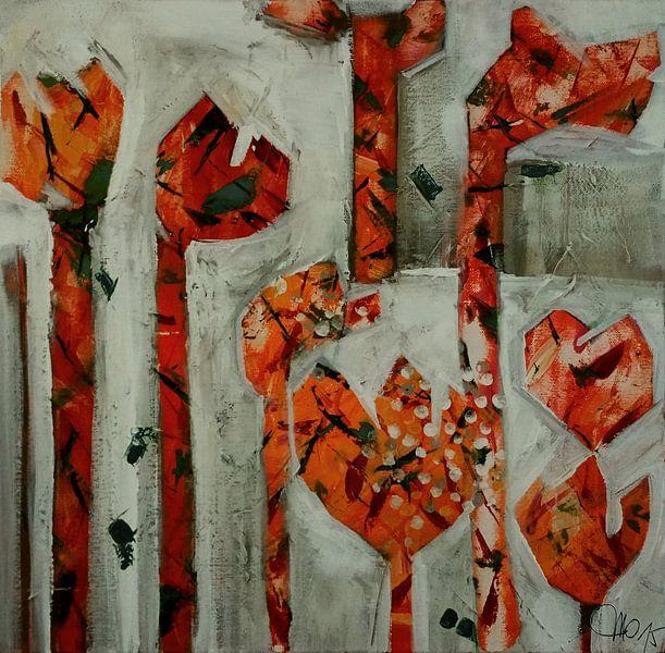 Crazy tulips von Mo Oberbichler