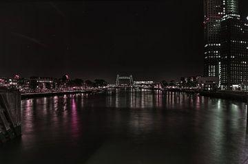 Rotterdam bij Nacht.