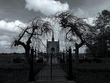 begraafplaats in Kuinre von Trijnie Kalsbeek van