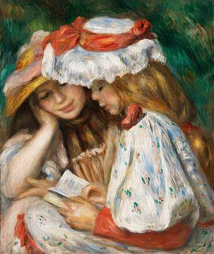Renoir, Zwei lesende Mädchen (ca. 1890-1891)