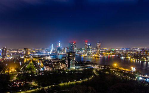 Skyline Rotterdam  van Evert Buitendijk
