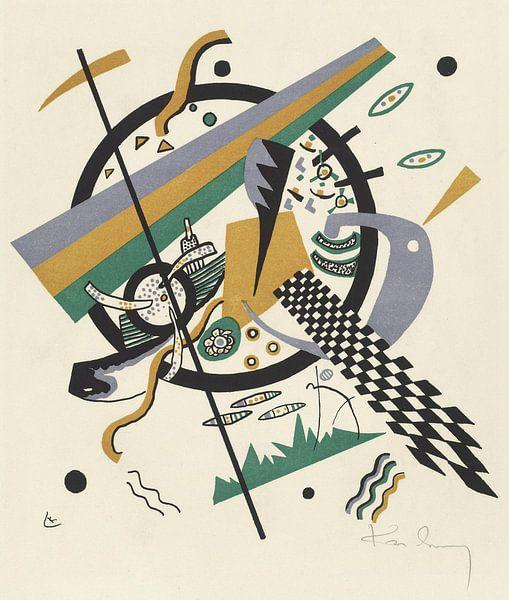 Kleine Welten IV, Wassily Kandinsky van Meesterlijcke Meesters
