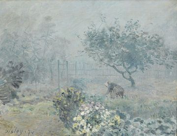 Nebel, Voisins, Alfred Sisley