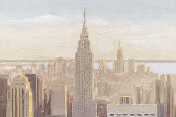 Manhattan Dawn goud en neutraal, James Wiens van Wild Apple