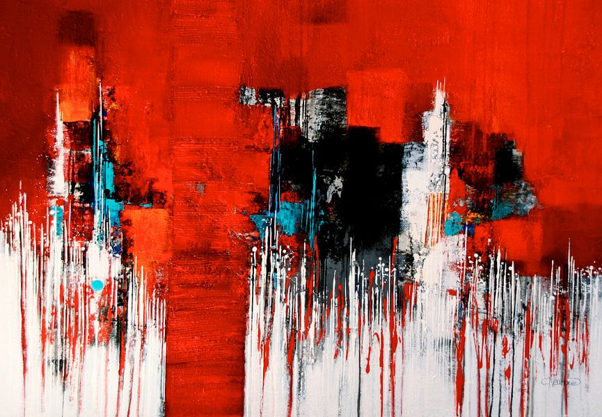 Lieblingsfarbe ROT Nr.12 von Claudia Neubauer