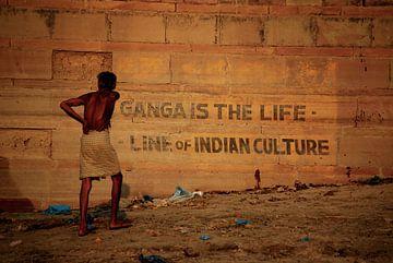 Ganga is de levensader van de Indiase cultuur  van Onne Kierkels
